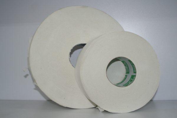 Papel Higiénico en tamaño 200 metros para dispensador de papel higiénico.