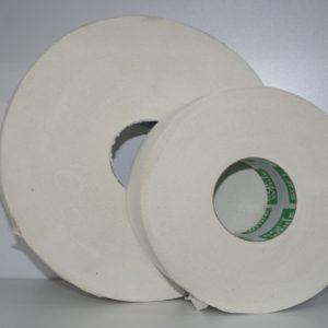 Papel Higiénico en tamaño 250 metros para dispensador de papel higiénico.