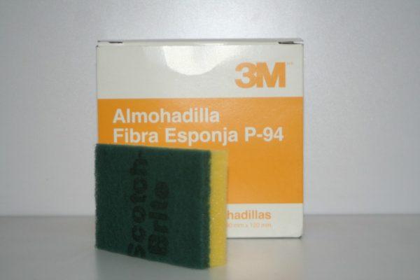 Fibra con Esponja Scotch-Brite 3M
