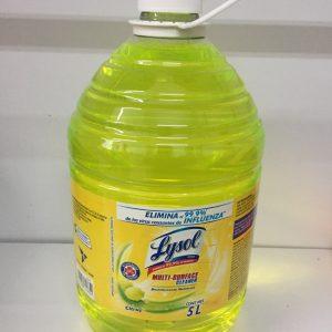 Desinfectante multiusos Lysol 5 litros