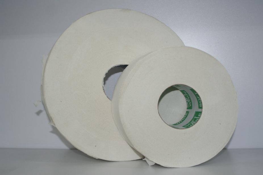 Papel Higienico Jumbo Junior caja con 12 rollos de 200 metros