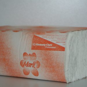 Toalla Interdoblada de papel para manos Marli Blanca