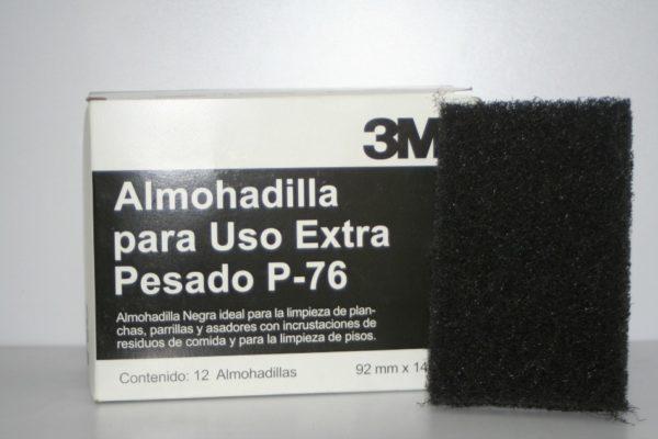 Fibra Negra uso rudo Scotch-Brite 3M.