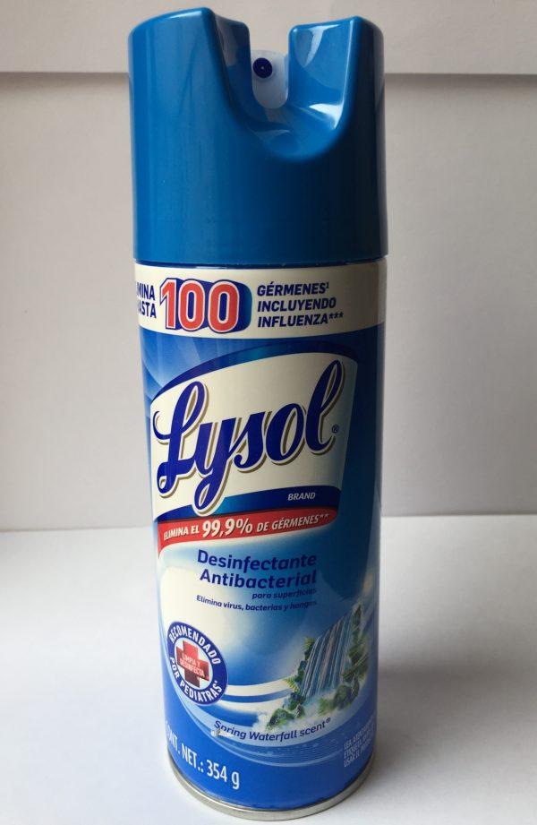 Desinfectante en aerosol Lysol 354gr