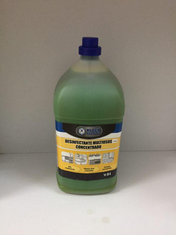 Desinfectante Concentrado GelKleen rinde 500 litros para superficies en general tapete sanitizante